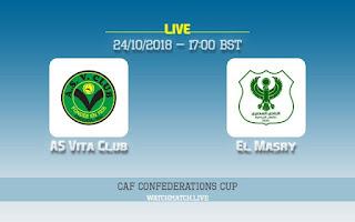 مشاهدة مباراة المصري و فيتا كلوب بث مباشر اون لاين نصف نهائي كأس الاتحاد الأفريقي