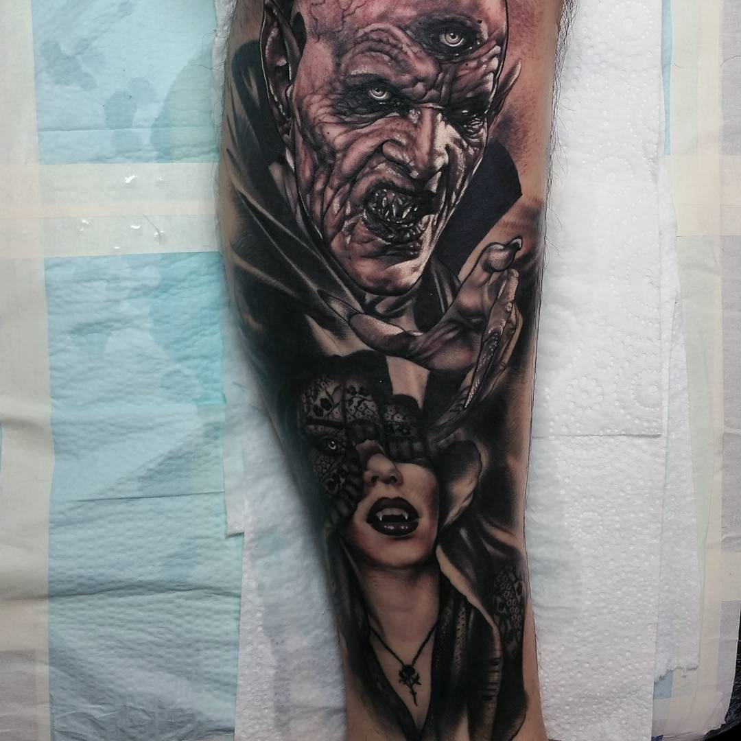 Ideas For Best Tattoos: Scary Tattoos