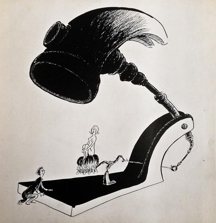 Dibujo: ¿Línea y contraste?: Dr. Seuss
