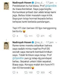HTI Gagal Paham, Prof Nadirsyah Tetap Tolak Khilafah