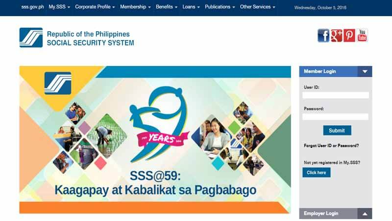 Register SSS Account for Online Inquiry of Contribution, Loan, Balance and Payments