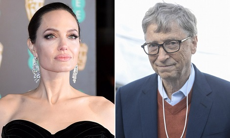 Angelina Jolie & Bill Gates Are The World's Most Admired People In 2018