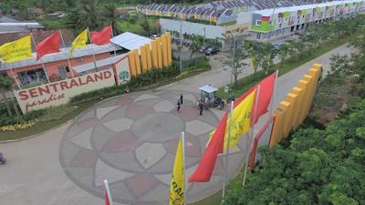 gerbang sentraland paradise parungpanjang kabasiran