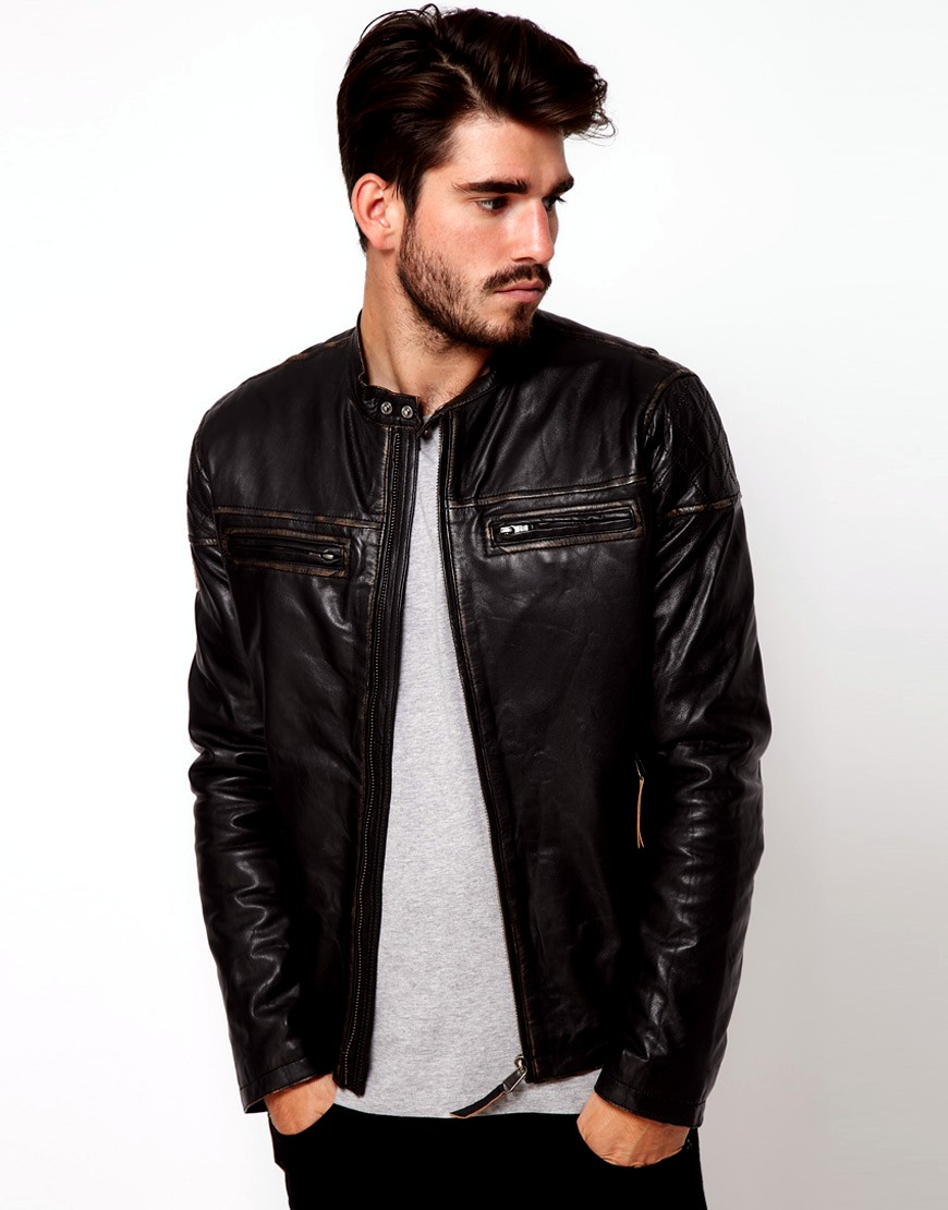 Asos Leather Jackets Collection 2012-13 For Men | Casual ...