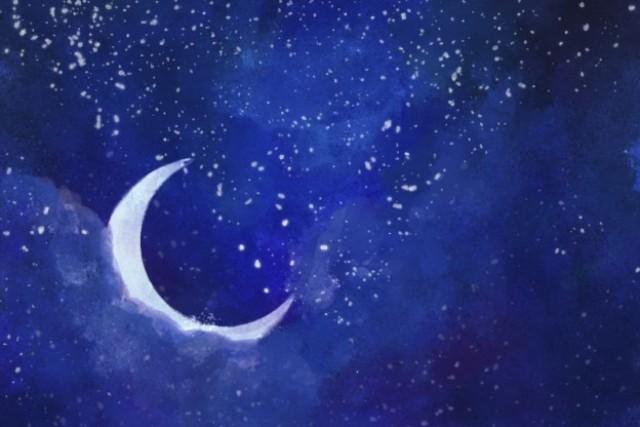 cerita rana bulan di langit