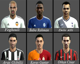 Mix Facepack V3 2016 Pes 2013 By AbdKursun7