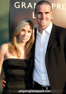 Kevin Pietersen and his wife Jessica Taylor, the romantic couple