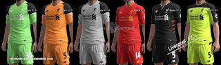 Liverpool F.C kits 2016-2017 Pes 2013