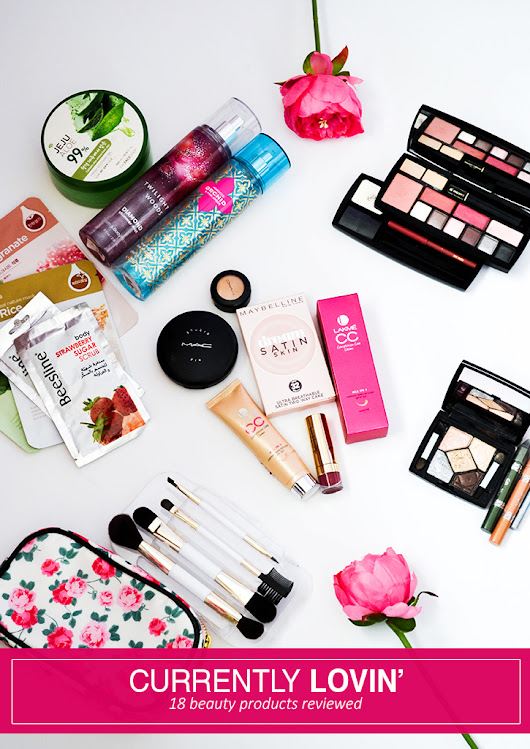 BEAUTY IN A NUTSHELL // MEGA EDITION- 18 BEAUTY PRODUCTS REVIEWED!