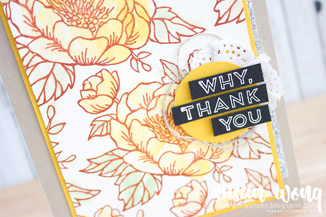 Birthday Blossoms + Pieces & Patterns - Susan Wong for Fancy Friday