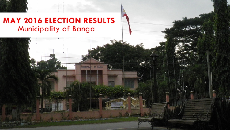 Municipality of Banga | May 2016 Elections Results