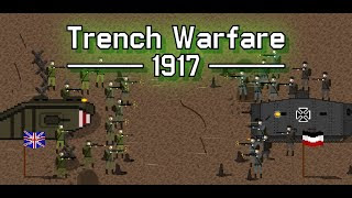 Trench Warfare 1917: WW1 Strategy Game APK for Android