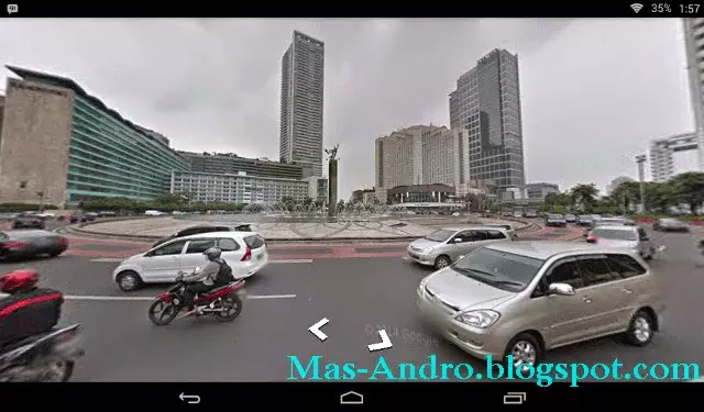 Cara Melihat Google Street View Indonesia via Android