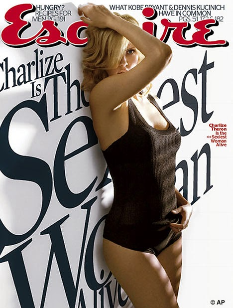 charlize theron hot magazine cover photos
