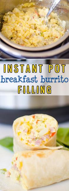 Instant Pot Breakfast Burritos Recipe