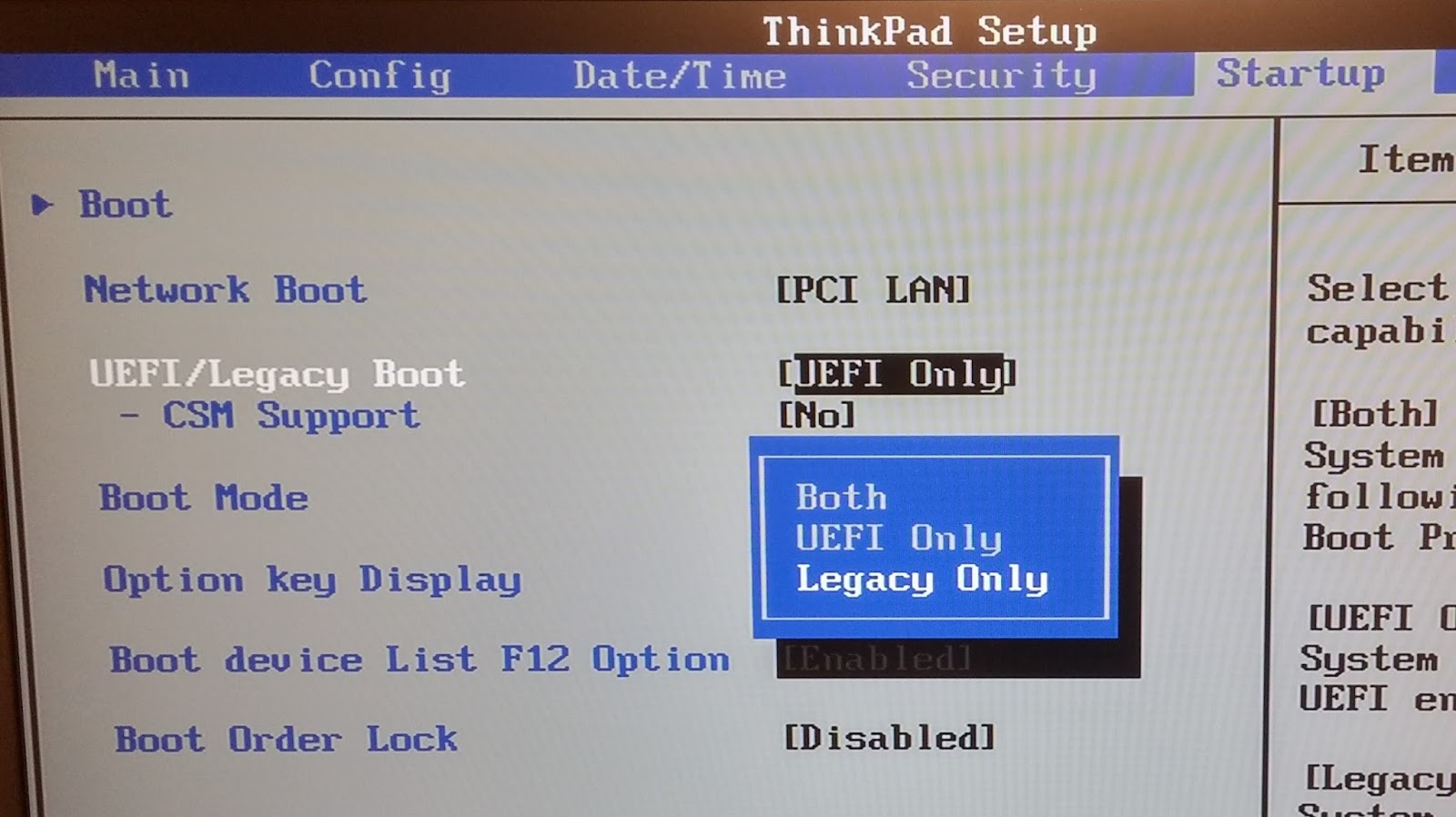 How to configure your BIOS to allow for PXE network or USB