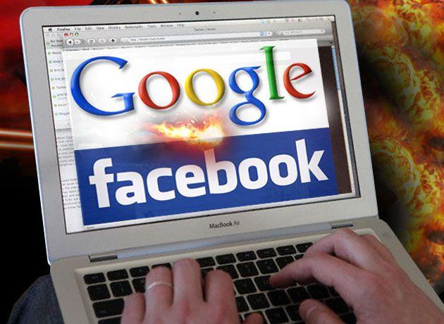 todavia no hay algo concreto sobre que las informaciones que manejan google y facebook esten bien seguras.