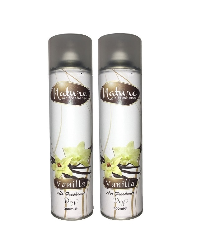 Pack Of 2 - Nature Vanilla Air Freshener 300 ml