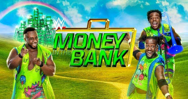 Image result for money in the bank 2017 banner