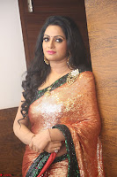 Udaya Bhanu lookssizzling in a Saree Choli at Gautam Nanda music launchi ~ Exclusive Celebrities Galleries 122.JPG