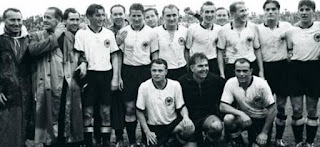 FIFA, World Cup, 1954, Switzerland , winners team, champions, west germany, final match, photo.
