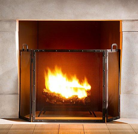 COZY LIT FIRE by Posh Interiors, LLC- Atlanta Interior Design