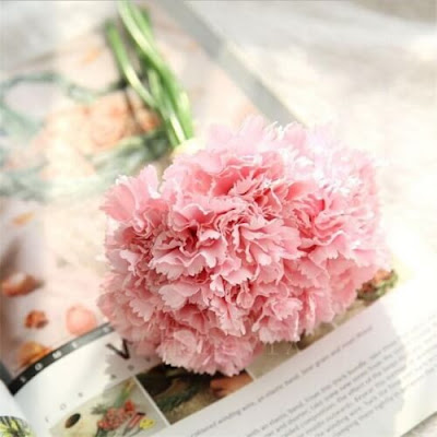 Bunga Plastik / Bunga Artificial Carnation (Seri D11)