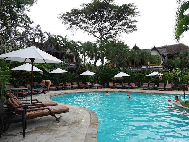 Swimming Pool Hotel Vila Lumbung