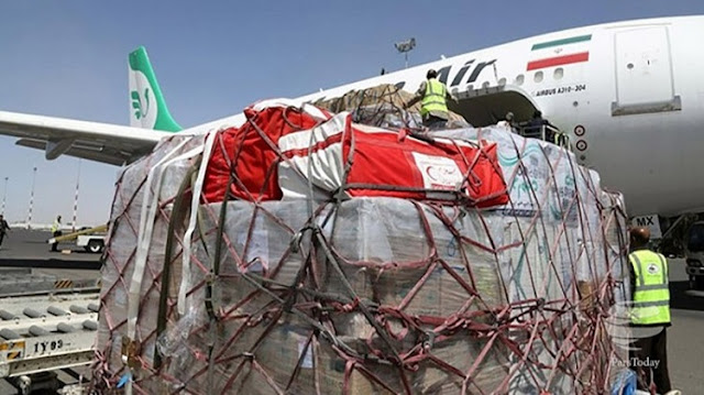 Irans-plane-with-more-than-30-tons-of-relief-is-in-Bangladesh