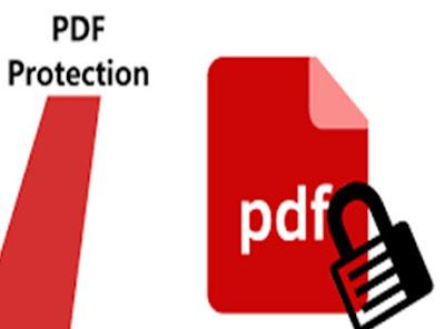 تشفير ملفات البي دي اف PDF اونلاين بدون برامج