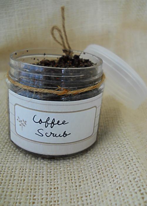 Wakey Wakey Coffee Body Scrub Recipe