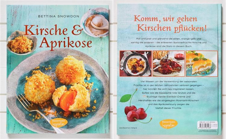 Rezension/Buchvorstellung Kirsche & Aprikose von Bettina Snowdon
