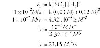 Soal kimia SMA tentang laju reaksi dan pembahasannya nomor 2