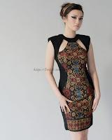 model baju batik distro