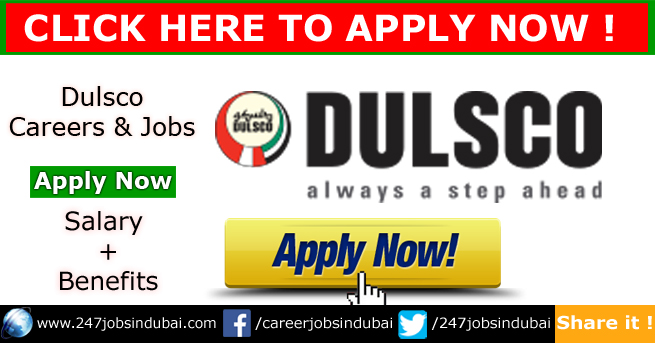 Latest Dulsco Jobs Vacancies and Careers