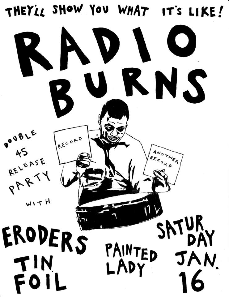 hip in detroit radio burns releases two albums this weekend before Double Album Sleeve radio burns releases two albums this weekend before they call it quits