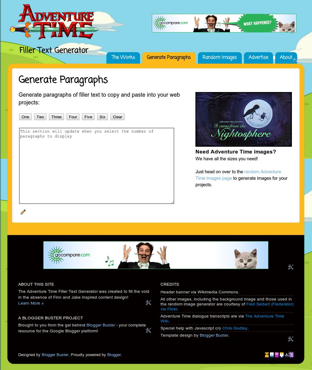 Alternative Lorem Ipsum Generator Seo Blogger