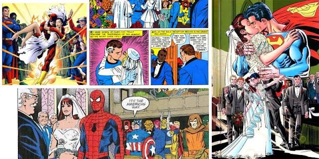 kisah percintaan superhero
