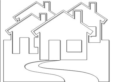 Minist rio infantil desenhos de casas p - Opciones para pintar mi casa ...