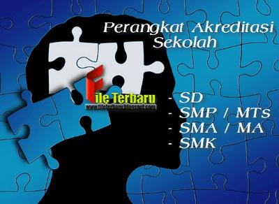 Perangkat Akreditasi Sekolah SD SMP / MTs SMA / MA SMK