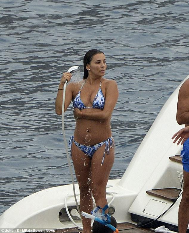 Eva Longoria Flaunts Assets In Skimpy Bikini