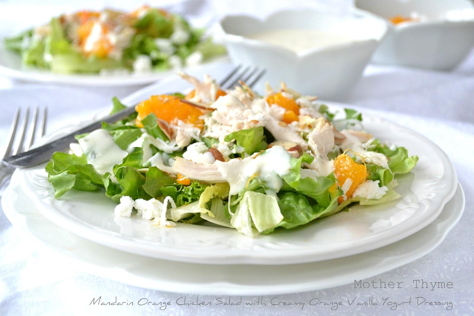 Mandarin Orange Chicken Salad Mother Thyme