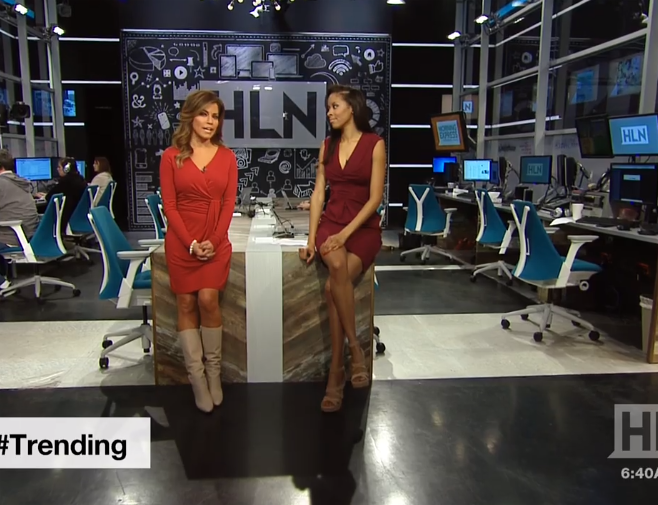 What pantyhose does robin meade wear