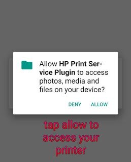 How to print from mobile