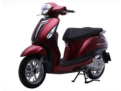 New 2016 Yamaha Nozza Grande 125cc Scooter red colour Hd Wallpapers
