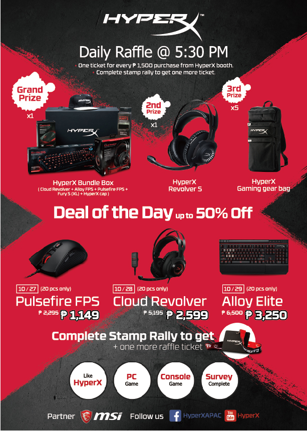 Limited Deal: Up to 50% Off Selected Gaming Peripherals