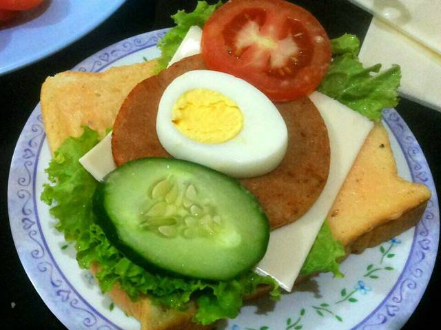 Resep double sandwich