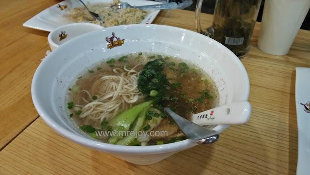 Makan-makan di Mee Tarik Warisan Asli, Mydin Pulau Sebang Melaka