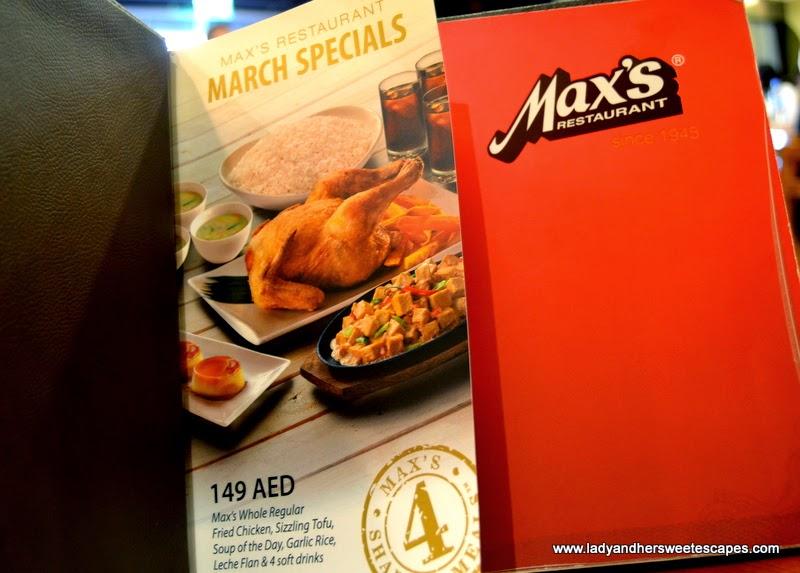 Max''s March Specials