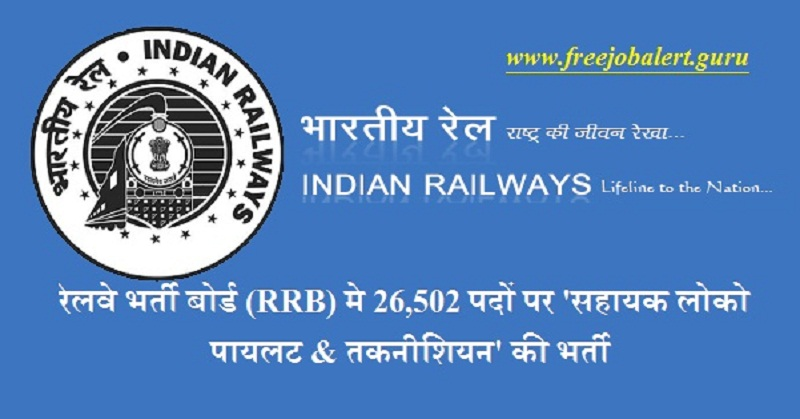 Government of India, Ministry of Railway, Railway Recruitment Boards, RRB, Indian Railways, Railway, Railway Recruitment, Assistant Loco Pilot, Technician, Latest Jobs, Hot Jobs, 10th, ITI, indian railways logo